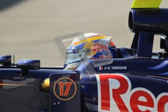 © 2012 Octane Photographic Ltd. Barcelona Winter Test 2 Day 1 - Thursday 24th March 2012. Toro Rosso STR7 - Jean-Eric Vergne. Digital Ref : 0231lw7d0241