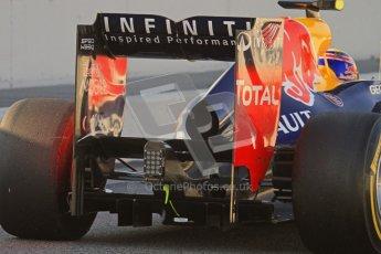 © 2012 Octane Photographic Ltd. Barcelona Winter Test 2 Day 1 - Thursday 1st March 2012. Red Bull RB8 - Mark Webber. Digital Ref : 0231lw7d7451