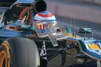 © 2012 Octane Photographic Ltd. Barcelona Winter Test 2 Day 1 - Thursday 1st March 2012. Caterham CT01 - Vitaly Petrov. Digital Ref : 0231lw7d7831