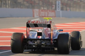© 2012 Octane Photographic Ltd. Barcelona Winter Test 2 Day 1 - Thursday 1st March 2012. Toro Rosso STR7 - Jean-Eric Vergne. Digital Ref : 0231lw7d8387