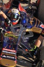 © 2012 Octane Photographic Ltd. Barcelona Winter Test 2 Day 1 - Thursday 24th March 2012. Toro Rosso STR7 - Jean-Eric Vergne. Digital Ref : 0231lw7d8924