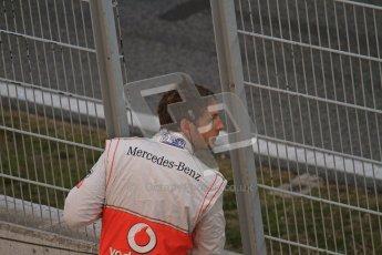 © 2012 Octane Photographic Ltd. Barcelona Winter Test 2 Day 1 - Thursday 1st March 2012. McLaren MP4/27 - Jenson Button. Digital Ref : 0231lw7d8955