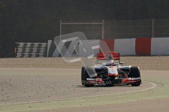 © 2012 Octane Photographic Ltd. Barcelona Winter Test 2 Day 1 - Thursday 1st March 2012. McLaren MP4/27 - Jenson Button. Digital Ref : 0231lw7d9276