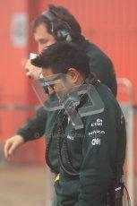 © 2012 Octane Photographic Ltd. Barcelona Winter Test 2 Day 2 - Friday 2nd March 2012. Caterham. Digital Ref :