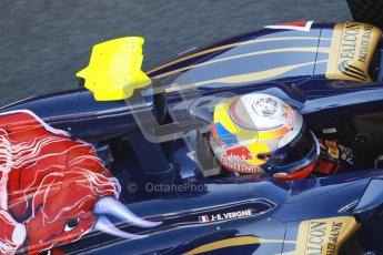 © 2012 Octane Photographic Ltd. Barcelona Winter Test 2 Day 2 - Friday 2nd March 2012. Toro Rosso STR7 - Jean-Eric Vergne. Digital Ref :
