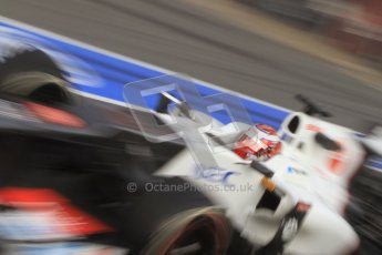 © 2012 Octane Photographic Ltd. Barcelona Winter Test 2 Day 2 - Friday 2nd March 2012. Sauber C31 - Kamui Kobayashi. Digital Ref :