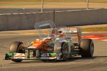 © 2012 Octane Photographic Ltd. Barcelona Winter Test 2 Day 2 - Friday 2nd March 2012. Force India VJM05 - Nico Hulkenberg. Digital Ref :