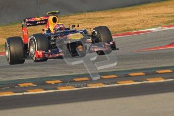 © 2012 Octane Photographic Ltd. Barcelona Winter Test 2 Day 3 - Saturday 3rd March 2012. Red Bull RB8 - Mark Webber. Digital Ref : 0233cb7d9074