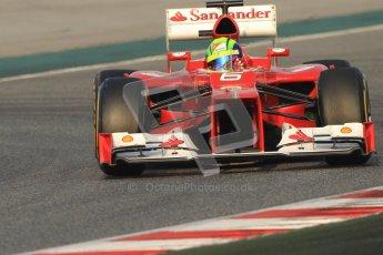 © 2012 Octane Photographic Ltd. Barcelona Winter Test 2 Day 3 - Saturday 3rd March 2012. Ferrari F2012 - Felipe Massa. Digital Ref : 0233cb7d9107