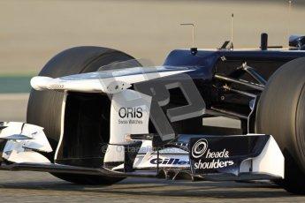© 2012 Octane Photographic Ltd. Barcelona Winter Test 2 Day 3 - Saturday 3rd March 2012. Williams FW34 - Bruno Senna. Digital Ref : 0233cb7d9153
