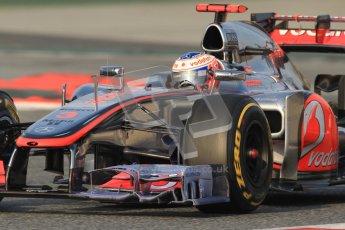 © 2012 Octane Photographic Ltd. Barcelona Winter Test 2 Day 3 - Saturday 3rd March 2012. McLaren MP4/27 - Jenson Button. Digital Ref : 0233cb7d9245
