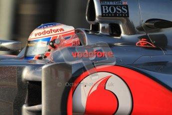 © 2012 Octane Photographic Ltd. Barcelona Winter Test 2 Day 3 - Saturday 3rd March 2012. McLaren MP4/27 - Jenson Button. Digital Ref : 0233cb7d9251
