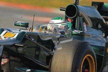 © 2012 Octane Photographic Ltd. Barcelona Winter Test 2 Day 3 - Saturday 3rd March 2012. Caterham CT01 - Heikki Kovalainen. Digital Ref : 0233cb7d9383