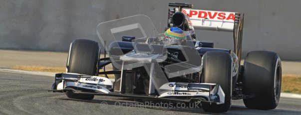 © 2012 Octane Photographic Ltd. Barcelona Winter Test 2 Day 3 - Saturday 3rd March 2012. Williams FW34 - Bruno Senna. Digital Ref : 0233cb7d9459