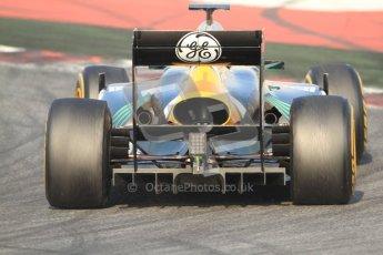 © 2012 Octane Photographic Ltd. Barcelona Winter Test 2 Day 3 - Saturday 3rd March 2012. Caterham CT01 - Heikki Kovalainen. Digital Ref : 0233cb7d9654