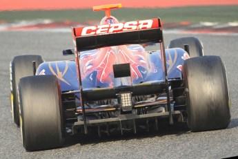 © 2012 Octane Photographic Ltd. Barcelona Winter Test 2 Day 3 - Saturday 3rd March 2012. Toro Rosso STR7 - Daniel Ricciardo. Digital Ref : 0233cb7d9745