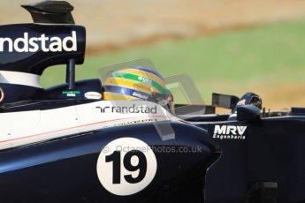 © 2012 Octane Photographic Ltd. Barcelona Winter Test 2 Day 3 - Saturday 3rd March 2012. Williams FW34 - Bruno Senna. Digital Ref : 0233cb7d9778