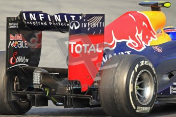 © 2012 Octane Photographic Ltd. Barcelona Winter Test 2 Day 3 - Saturday 3rd March 2012. Red Bull RB8 - Mark Webber. Digital Ref : 0233cb7d9880