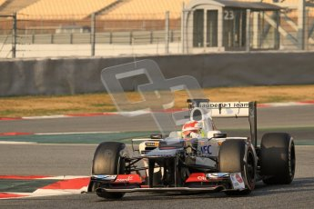 © 2012 Octane Photographic Ltd. Barcelona Winter Test 2 Day 3 - Saturday 3rd March 2012. Sauber C31 - Sergio Perez. Digital Ref : 0233lw7d2695