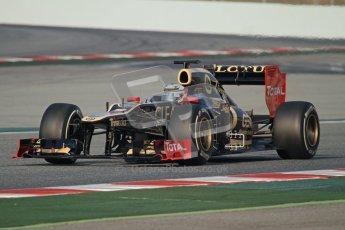© 2012 Octane Photographic Ltd. Barcelona Winter Test 2 Day 3 - Saturday 3rd March 2012. Lotus E20 - Kimi Raikkonen. Digital Ref : 0233lw7d2970