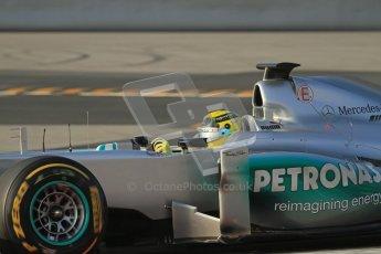 © 2012 Octane Photographic Ltd. Barcelona Winter Test Day 3 - Saturday 3rd March 2012. Mercedes W03 - Nico Rosberg. Digital Ref : 0233lw7d3078