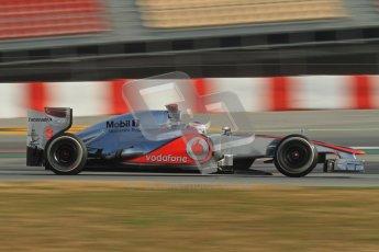 © 2012 Octane Photographic Ltd. Barcelona Winter Test 2 Day 3 - Saturday 3rd March 2012. McLaren MP4/27 - Jenson Button. Digital Ref : 0233lw7d3236