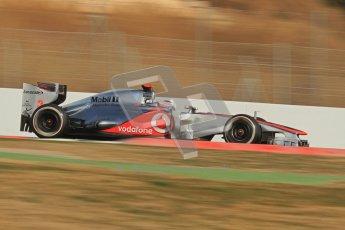 © 2012 Octane Photographic Ltd. Barcelona Winter Test 2 Day 3 - Saturday 3rd March 2012. McLaren MP4/27 - Jenson Button. Digital Ref : 0233lw7d3301