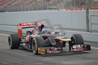 © 2012 Octane Photographic Ltd. Barcelona Winter Test 2 Day 4 - Sunday 4th March 2012. Toro Rosso STR7 - Daniel Ricciardo. Digital Ref : 0234cb1d2834