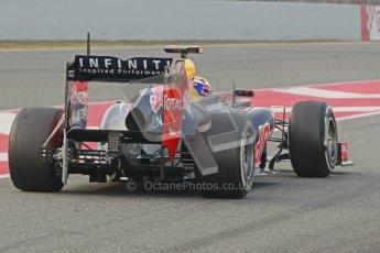 © 2012 Octane Photographic Ltd. Barcelona Winter Test 2 Day 4 - Sunday 4th March 2012. Red Bull RB8 - Sebastian Vettel. Digital Ref : 0234cb1d2884