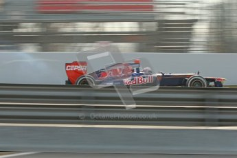 © 2012 Octane Photographic Ltd. Barcelona Winter Test 2 Day 4 - Sunday 4th March 2012. Toro Rosso STR7 - Daniel Ricciardo. Digital Ref :  0234cb1d2931