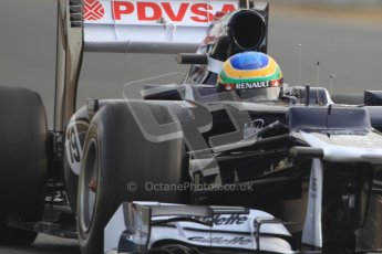 © 2012 Octane Photographic Ltd. Barcelona Winter Test 2 Day 4 - Sunday 4th March 2012. Williams FW34 - Bruno Senna. Digital Ref : 0234cb7d0026