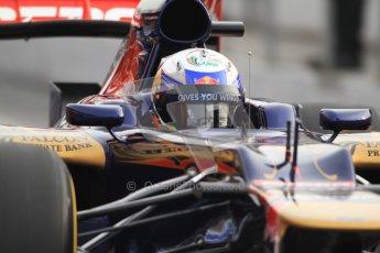 © 2012 Octane Photographic Ltd. Barcelona Winter Test 2 Day 4 - Sunday 4th March 2012. Toro Rosso STR7 - Daniel Ricciardo. Digital Ref : 0234cb7d9953