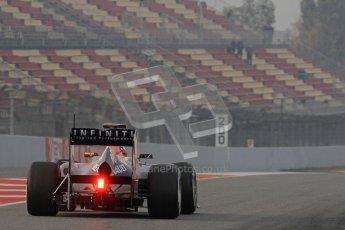 © 2012 Octane Photographic Ltd. Barcelona Winter Test 2 Day 4 - Sunday 4th March 2012. Red Bull RB8 - Sebastian Vettel. Digital Ref : 0234lw7d3794