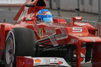 © 2012 Octane Photographic Ltd. Barcelona Winter Test 2 Day 4 - Sunday 4th March 2012. Ferrari F2012 - Fernando Alonso. Digital Ref : 0234lw7d3976