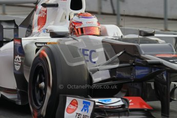 © 2012 Octane Photographic Ltd. Barcelona Winter Test 2 Day 4 - Sunday 4th March 2012. Sauber C31 - Kamui Kobayashi. Digital Ref :  0234lw7d4050