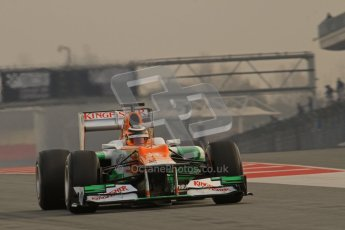 © 2012 Octane Photographic Ltd. Barcelona Winter Test 2 Day 4 - Sunday 4th March 2012. Force India VJM05 - Nico Hulkenberg. Digital Ref : 0234lw7d4219