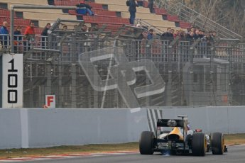 © 2012 Octane Photographic Ltd. Barcelona Winter Test 2 Day 4 - Sunday 4th March 2012. Caterham CT01 - Vitaly Petrov. Digital Ref : 0234lw7d4516