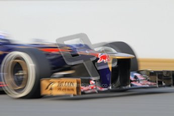 © 2012 Octane Photographic Ltd. Barcelona Winter Test 2 Day 4 - Sunday 4th March 2012. Toro Rosso STR7 - Daniel Ricciardo. Digital Ref : 0234lw7d4535