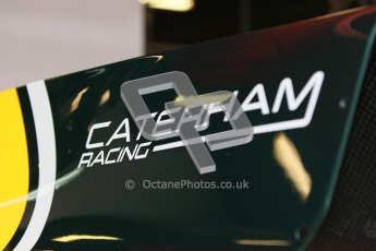 © Octane Photographic Ltd. GP2 Winter testing Barcelona Day 1, Tuesday 6th March 2012. Caterham Racing. Digital Ref :