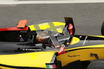 © Octane Photographic Ltd. GP2 Winter testingBarcelona Day 1, Tuesday 6th March 2012. DAMS, Davide Valsecchi. Digital Ref :
