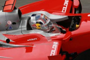 © Octane Photographic Ltd. GP2 Winter testing Barcelona Day 1, Tuesday 6th March 2012. Scuderia Coloni, Stefano Coletti. Digital Ref :