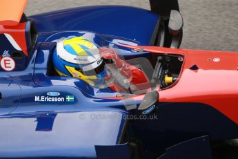 © Octane Photographic Ltd. GP2 Winter testing Barcelona Day 1, Tuesday 6th March 2012. iSport International, Marcus Ericsson. Digital Ref :