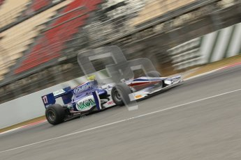 © Octane Photographic Ltd. GP2 Winter testing Barcelona Day 1, Tuesday 6th March 2012. Trident Racing, Julian Leal. Digital Ref : 0235cb1d3646