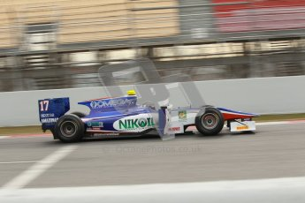 © Octane Photographic Ltd. GP2 Winter testing Barcelona Day 1, Tuesday 6th March 2012. Trident Racing, Julian Leal. Digital Ref : 0235cb1d3687