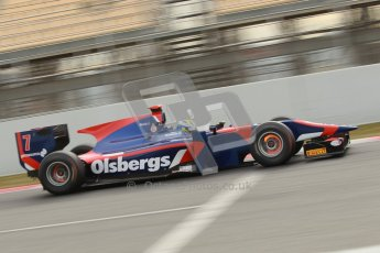 © Octane Photographic Ltd. GP2 Winter testing Barcelona Day 1, Tuesday 6th March 2012. iSport International, Marcus Ericsson. Digital Ref : 0235cb1d3699
