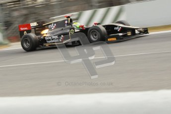 © Octane Photographic Ltd. GP2 Winter testing Barcelona Day 1, Tuesday 6th March 2012. Lotus GP, James Calado, Racing Steps. Digital Ref : 0235cb1d3708