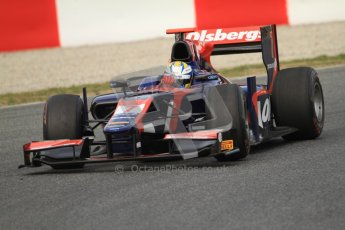 © Octane Photographic Ltd. GP2 Winter testing Barcelona Day 1, Tuesday 6th March 2012. iSport International, Marcus Ericsson. Digital Ref : 0235cb7d0448
