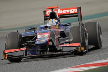 © Octane Photographic Ltd. GP2 Winter testing Barcelona Day 1, Tuesday 6th March 2012. iSport International, Marcus Ericsson. Digital Ref : 0235cb7d0593