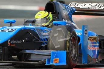 © Octane Photographic Ltd. GP2 Winter testing Barcelona Day 1, Tuesday 6th March 2012. Ocean Racing technology, Nigel Melker. Digital Ref : 0235cb7d0887