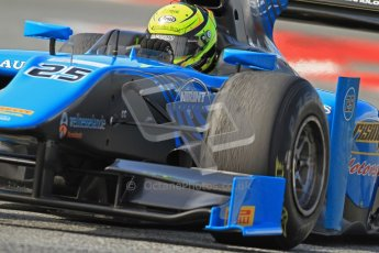 © Octane Photographic Ltd. GP2 Winter testing Barcelona Day 1, Tuesday 6th March 2012. Ocean Racing technology, Nigel Melker. Digital Ref : 0235cb7d0967